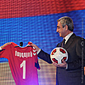 President Serzh Sargsyan attends the event honoring the members of the Armenian national football team-15.12.2011