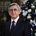 President Serzh Sargsyan delivers an address on the occasion of New Year and Saint Christmas holidays-31.12.2011