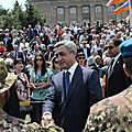 President Serzh Sargsyan participates at the festive events in Artsakh dedicated to May holidays
