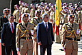 President Serzh Sargsyan's official welcoming ceremony during his official visit to Jordan
