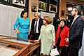 "RA First Lady Rita Sargsyan at the presentation of the book ""Embroidery in Aintab"""