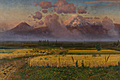 "Gevorg Bashinjaghian – ""Ararat and the field"" - 1920"