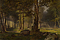 "Gevorg Bashinjaghian – ""Morning in Bois de Boulogne"" - 1900"