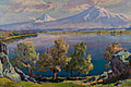 "Gabriel Gyurjian – ""Lake Ayger in autumn"" – 1957"