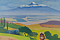 "Henrik Siravyan - ""Ararat valley"" (copy from M. Sarian) - 1965"