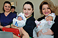 Rita Sargsyan visited the twins born through the assistance of the Aragil Foundation