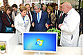 RA First Lady Rita Sargsyan attended the opening ceremony of the R. Yeolyan Hematology Medical Center