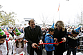 First Lady attends Kindergarten N70 reopening