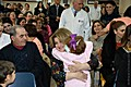 First Lady visits children treated at hematological center