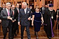 President Serzh Sargsyan and Mrs. Rita Sargsyan with Prince Charles of the United Kingdom on May 29 at the A. Spendiarian National Academic Opera and Ballet Theater after the concert organized by the Yerevan, My Love foundation