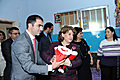 Rita Sargsyan and Vafaa Suleiman visited the Bird's Nest Armenian orphanage in Beirut and met with the children