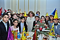 On the occasion of New Year and Holly Christmas, Mrs. Rita Sargsyan hosted schoolchildren with excellent learning performance