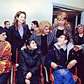 On December 5, on the eve of the 20th anniversary of the earthquake of 1988, First Lady Rita Sargsyan visited Spitak's n. 1 special school