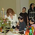 On December 29, First Lady Rita Sargsyan organized New Year celebrations at the Presidential Palace for over a hundred children from the orphanages of Armenia
