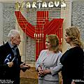 The world famous choreographer Yuri Grigorovich, the First Ladies of the Republic of Armenia and the Russian Federation Rita Sargsyan and Svetlana Medvedeva