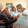 On the occasion of the International Day of the Elderly, First Lady Rita Sargsyan visited the retirement home in Gyumri