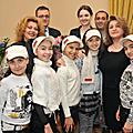 On November 23, First Lady Rita Sargsyan received the representatives of Armenia at the Junior Eurovision 2009 Song contest