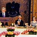 Official dinner in honor of Serzh and Rita Sargsyan during the President's official visit to Syria
