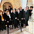Mr. and Mrs. Sargsyan at the Museum of the Saint Martyrs Church in Deir Zor