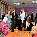 In the framework of the official visit to Syria, First Lady Rita Sargsyan visited medical centers for children