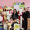 On the occasion of New Year and Christmas holidays, First Lady Rita Sargsyan visited a number of medical centers of pediatric oncology and presented the children with the gifts.
