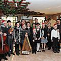 On the occasion of New Year and Christmas holidays, First Lady Rita Sargsyan met with the young musicians of Armenia's New Names organization which was created after the devastating earthquake of 1988. She attended the performance of the talented yo