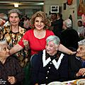 On October 1, Spouse of the President of Armenia Mrs. Rita Sargsyan on the occasion of the International Day of Elderly visited the assisted living home in Nork