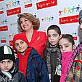 "First lady of Armenia, Mrs. Rita Sargsyan on February 17 attended the benevolent concert for children ""The Boat of Hope"" held at the A. Spendiarian National Academic Opera and Ballet Theater. The concert was dedicated to the International Day"