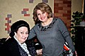 RA First Lady Rita Sargsyan and the famous opera singer Montserrat Caballe