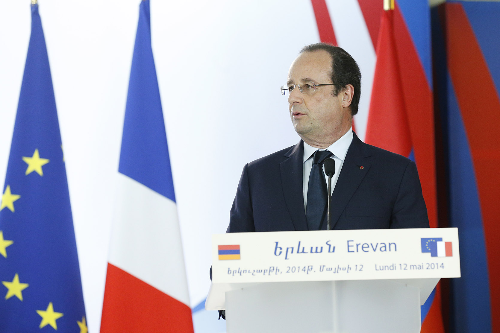 Francois Illas New Tradition: President Serzh Sargsyan And President Of France Francois
