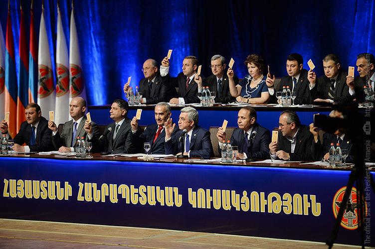 Республиканская партия не будет представлена в новом парламенте Армении