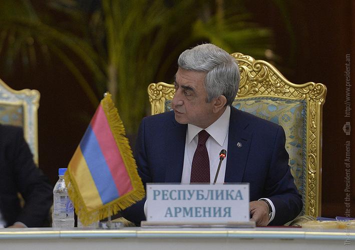 Президент Армении: процесс признания Геноцида армян невозможно остановить