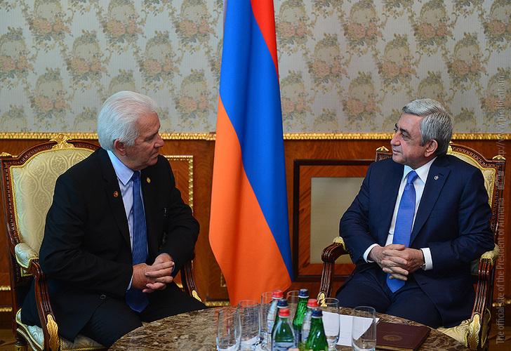 Серж Саргсян: Армяно-американские отношения находятся на самом высоком уровне