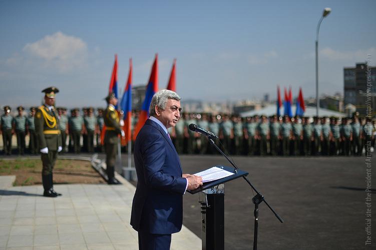 Մեր հայրենիքն ունի շատ ուժեղ կողմեր. Սերժ Սարգսյան