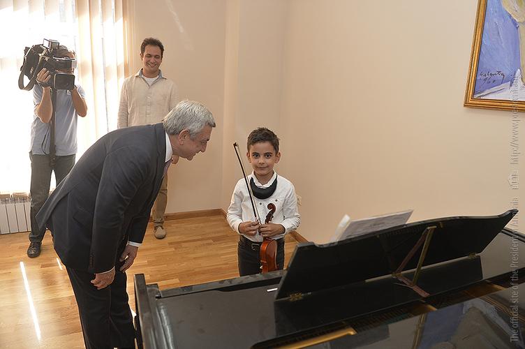 Նոր աստիճանի է բարձրացվել Չայկովսկու դպրոցի կարգավիճակը