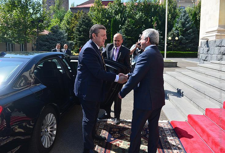 Վրաստանի վարչապետը նախագահական էր գնացել