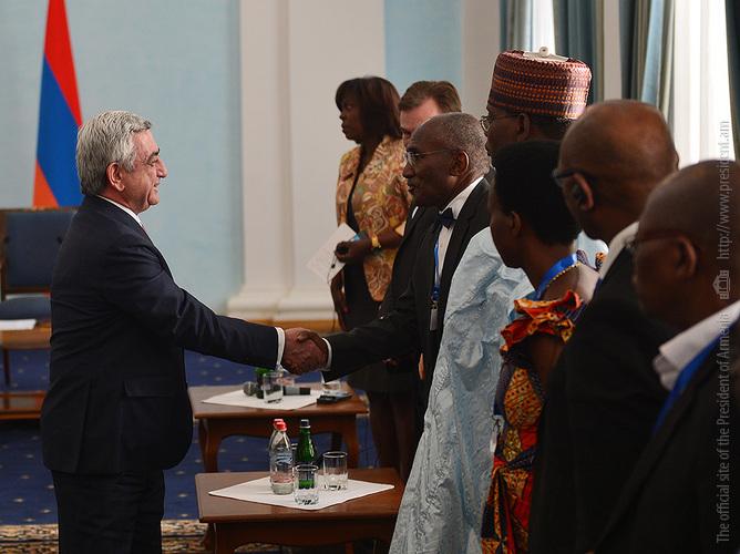 Սերժ Սարգսյանն ընդունել է ՄԱԿ-ի Պարենի համաշխարհային ծրագրի գործադիր տնօրենին