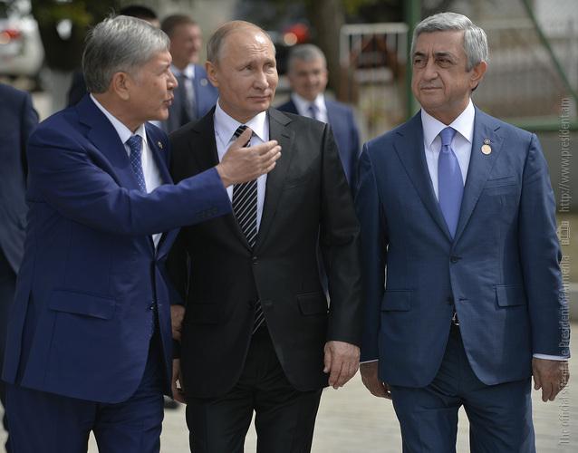 Սերժ Սարգսյանը և Վլ. Պուտինը  սպորտային համալիր են այցելել