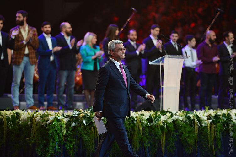 Սա մի սերունդ է, որ կռվում է առյուծի նման. Սերժ Սարգսյան