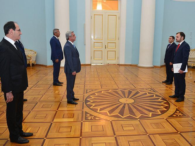 Նախագահին հավատարմագրերն է հանձնել Հայաստանում Մոլդովայի նորանշանակ դեսպանը