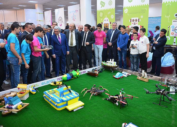 Школьники и студенты из Сисиана хотят самостоятельно разрабатывать беспилотники