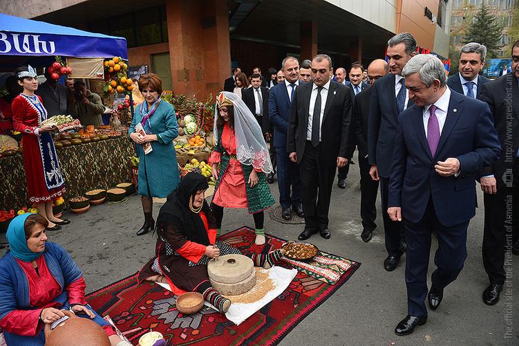 Более 90 организаций из областей Армении и Арцаха представлены на «Армпродэкспо»