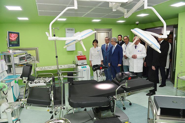 Гематологический центр в Ереване получил региональное значение: открыты отделение по пересадке костного мозга и лаборатория столбовых клеток