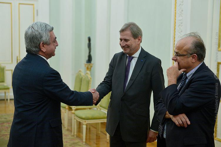 Серж Саргсян: Армения сделала все для развития сотрудничества в формате Восточного партнерства