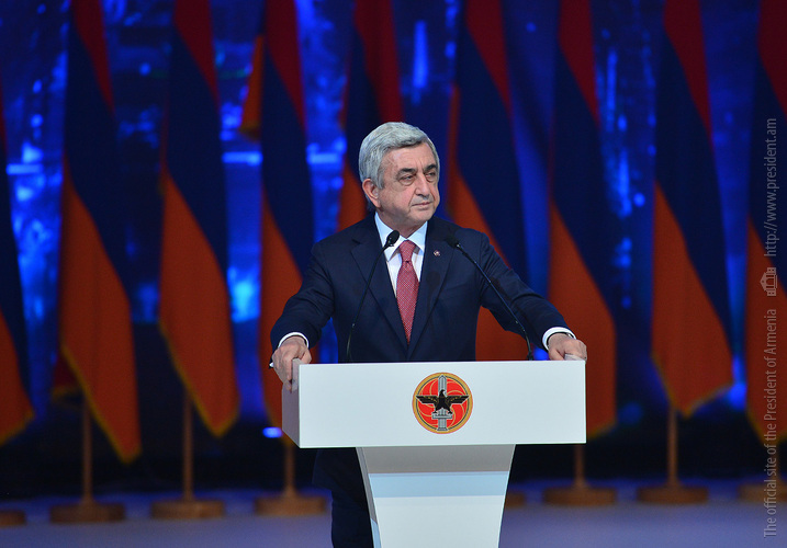 Серж Саргсян: Мир на границах нерушим, когда царит мир внутри границ