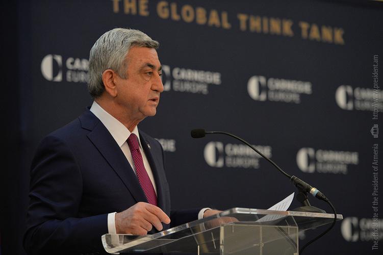 Президент Армении: Апрельская авантюра Азербайджана доказала безальтернативность борьбы народа Арцаха