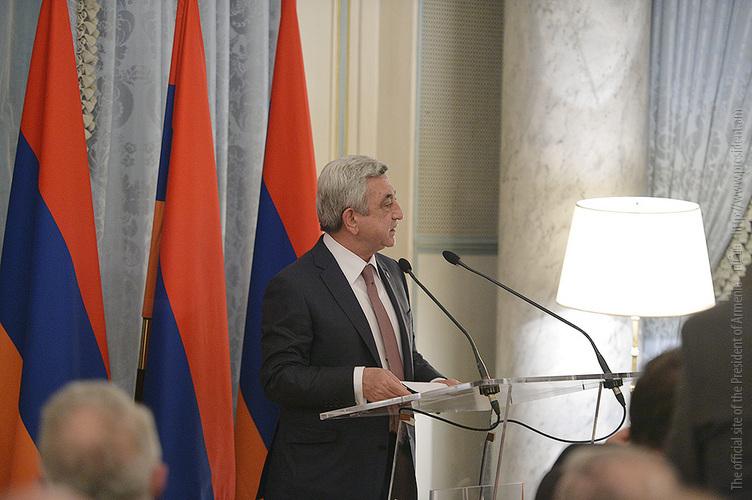 Սփյուռքը համաշխարհային տնտեսության մեջ Հայաստանի ինտեգրման հուսալի և ամենաարդյունավետ կամուրջ է. ՀՀ նախագահ
