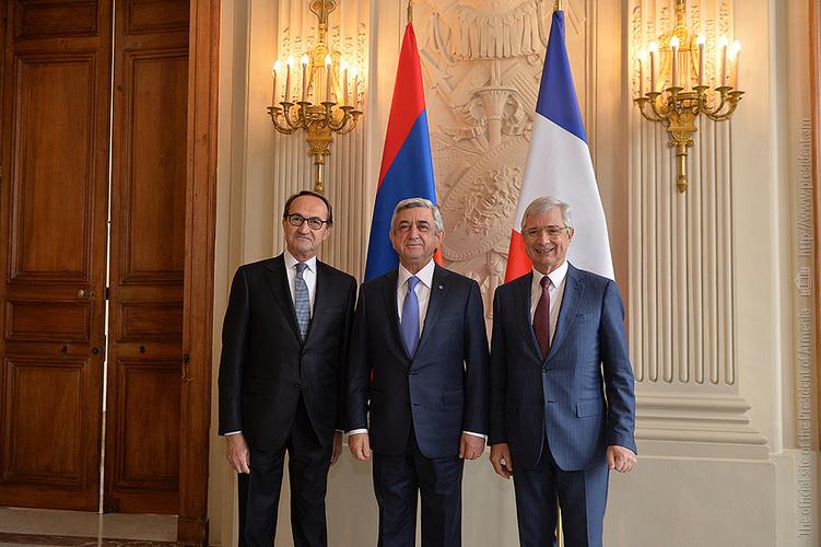Серж Саргсян высоко оценил позицию парламента Франции в вопросе международного признания и криминализации Геноцида армян