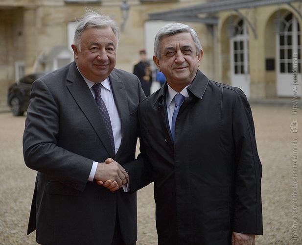 Серж Саргсян высоко оценил эффективное взаимодействие Армении и Франции в рамках Франкофонии