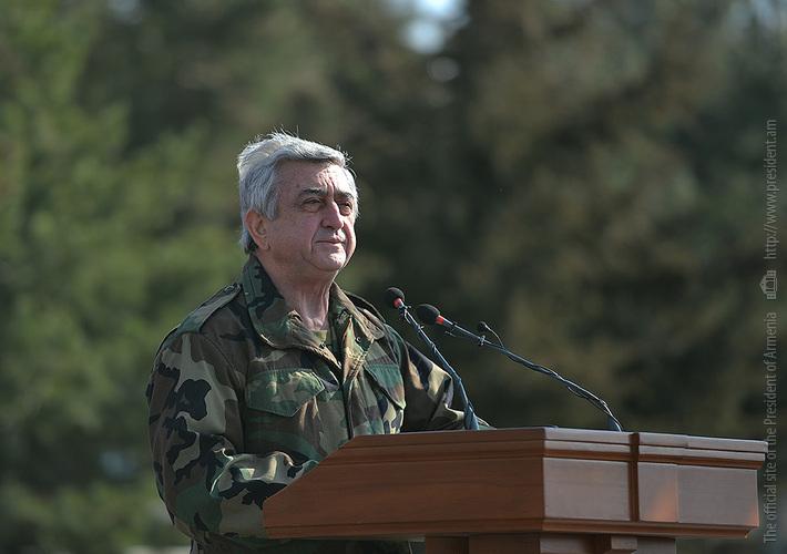 Серж Саргсян: В случае необходимости,  отдадим приказ задействовать комплексы «Искандер»